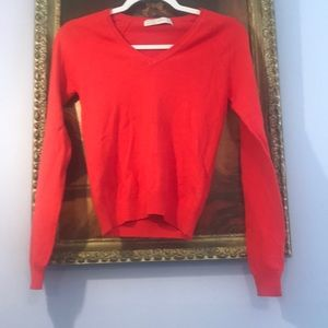 Zara V-neck sweater XS